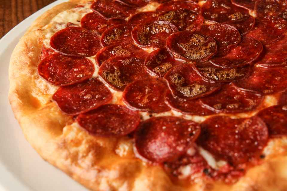 image of DOUBLE PEPPERONI PIZZA
