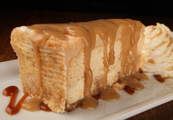 image of HOT BUTTERED RUM CHEESECAKE