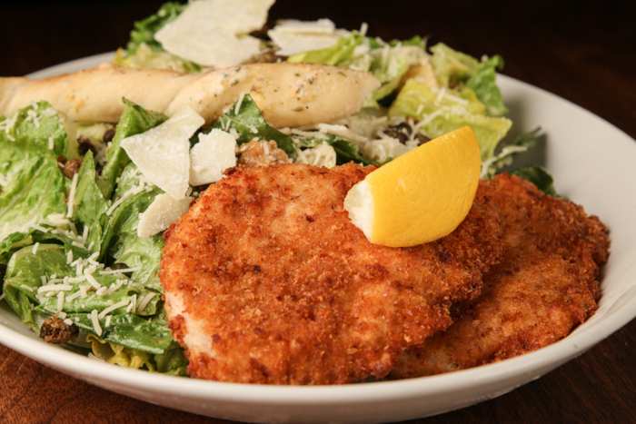 image of PARMESAN CHICKEN CAESAR SALAD