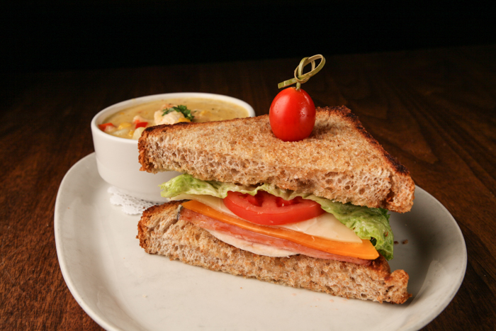 image of GRILLED CLUB SANDWICH